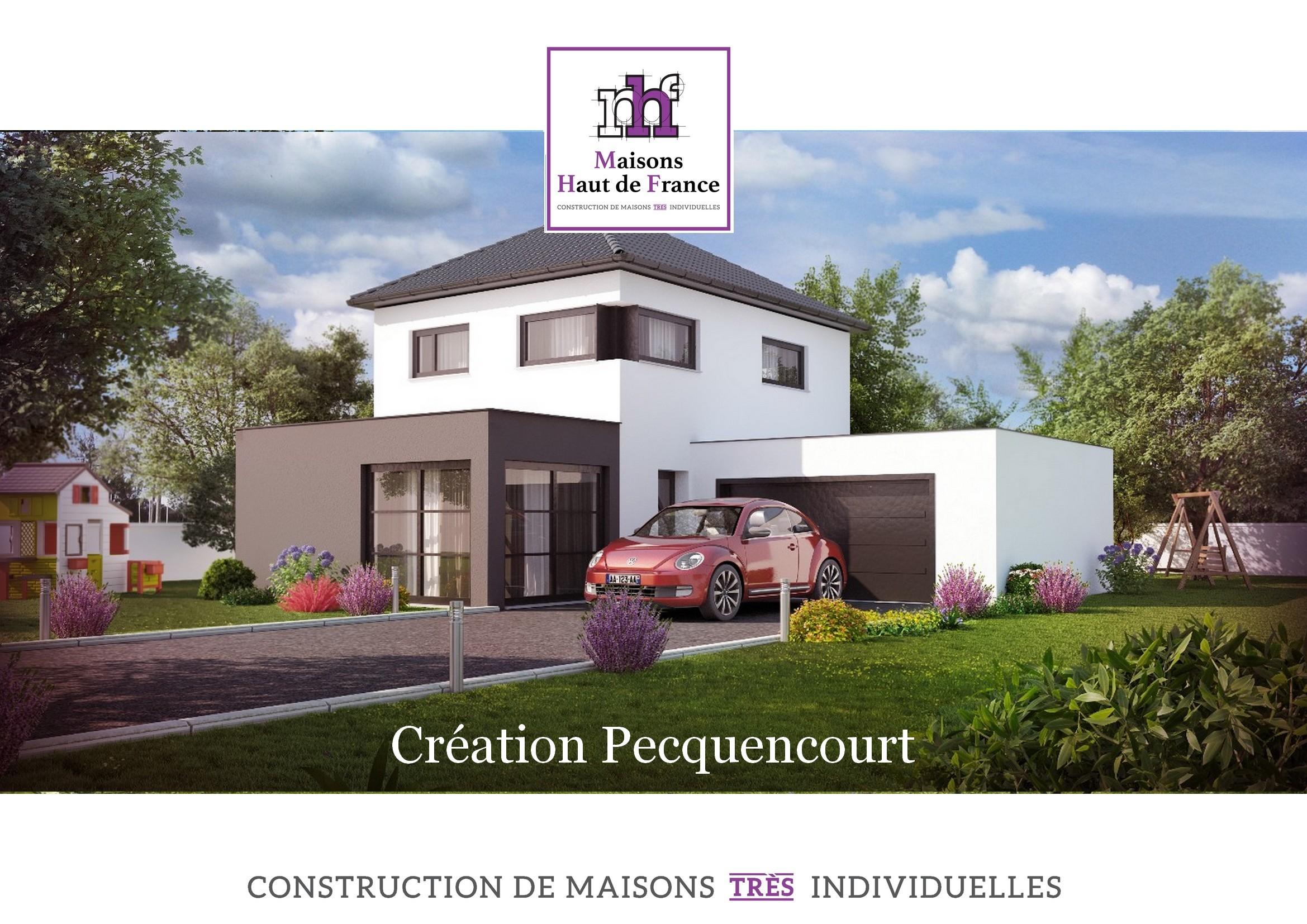 Maisons haut de france gallery of maison architecte for Visualiser une maison