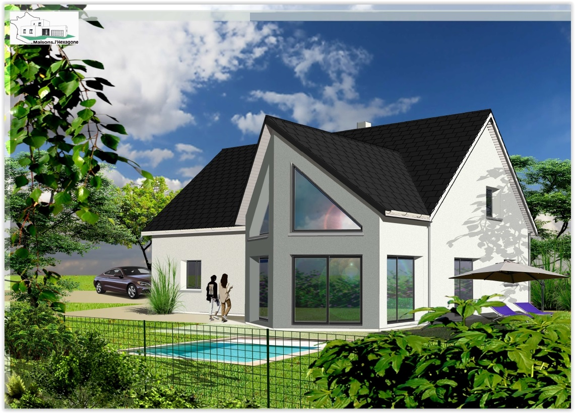 Maison l hexagone avie home for Constructeur orleans