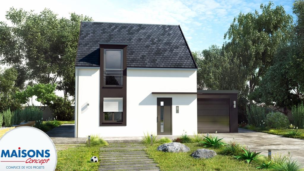 Maisons concept great maisons concept with maisons for Constructeur bourges